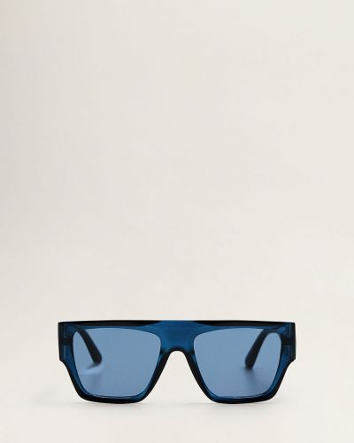 Солнцезащитные очки стеклянные синий Mango