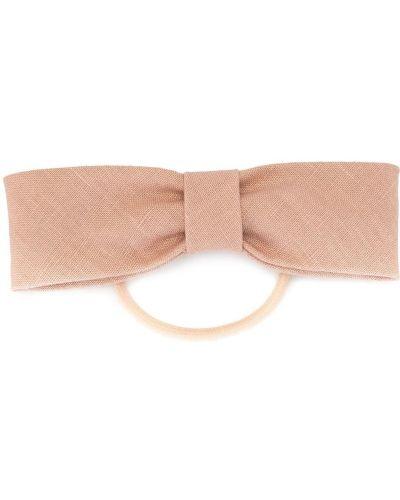 Розовая резинка для волос на резинке с бантом Le Monde Beryl