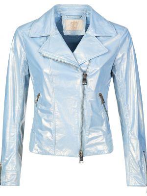 Куртка из полиэстера - голубая Gallotti