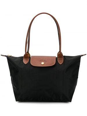 Нейлоновая сумка - черная Longchamp