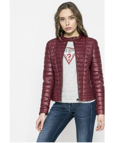 Джинсовая куртка кожаная стеганая Guess Jeans