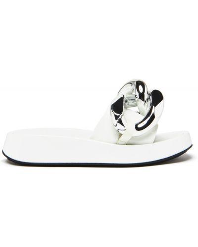 Sandały - białe Jeffrey Campbell