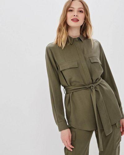 Блузка с длинным рукавом зеленый итальянский Imperial