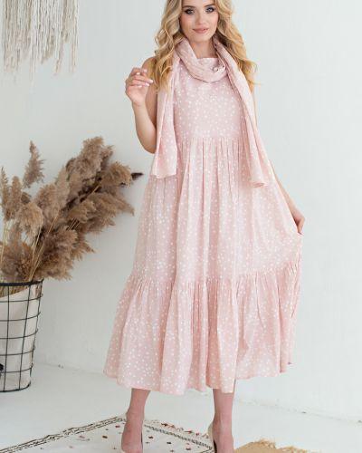 Повседневное платье с поясом без рукавов Filigrana