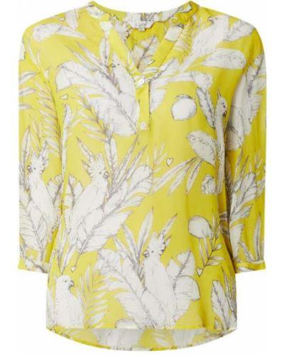 Żółta bluzka z wiskozy Frogbox