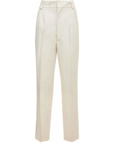 Spodnie z wiskozy - białe Fear Of God