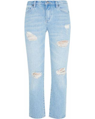 Хлопковые свободные джинсы свободного кроя Edit