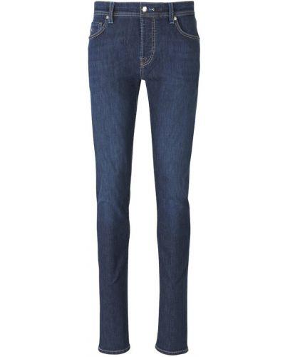 Niebieskie mom jeans Tramarossa