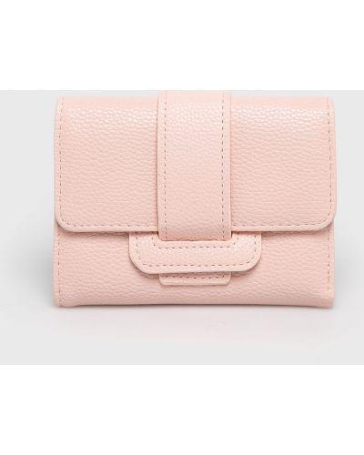 Кожаный кошелек розовый Answear