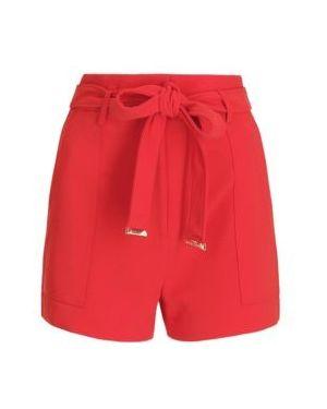 Czerwone szorty materiałowe Marciano Guess