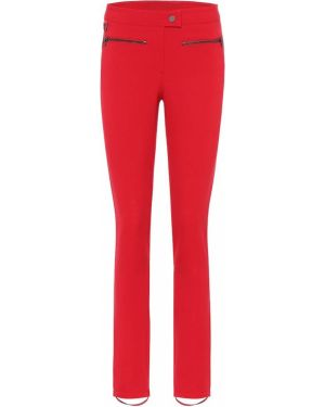 Czerwone spodnie z nylonu Erin Snow