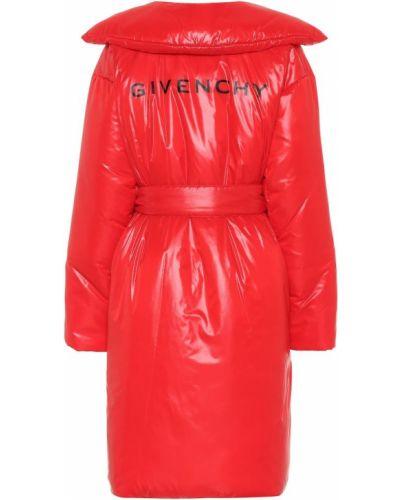 Пальто оверсайз с принтом Givenchy