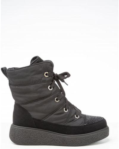 Черные ботинки Vensi