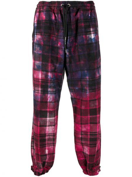 Хлопковые брючные розовые брюки с карманами Mauna Kea