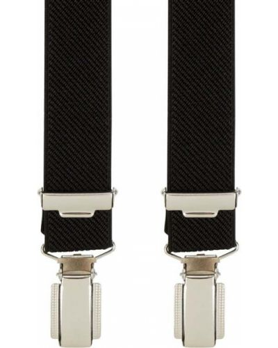 Czarne szelki Lloyd Men's Belts
