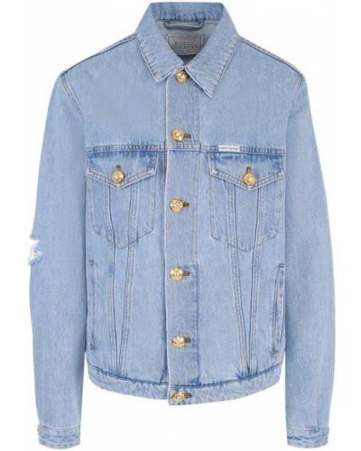 Джинсовая куртка свободная Forte Couture