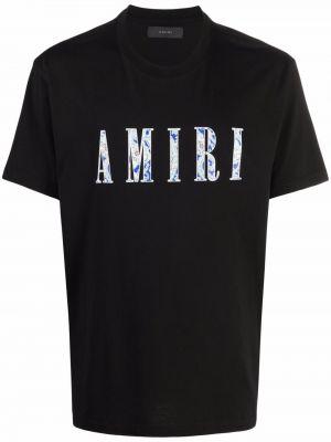 Лонгслив с принтом - черная Amiri