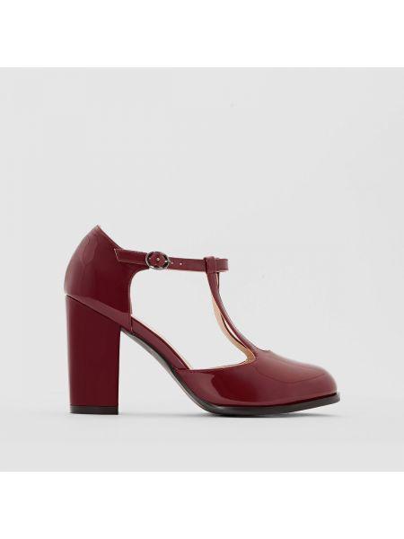 Кожаные туфли на каблуке Castaluna