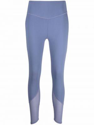 Fioletowe legginsy Adidas