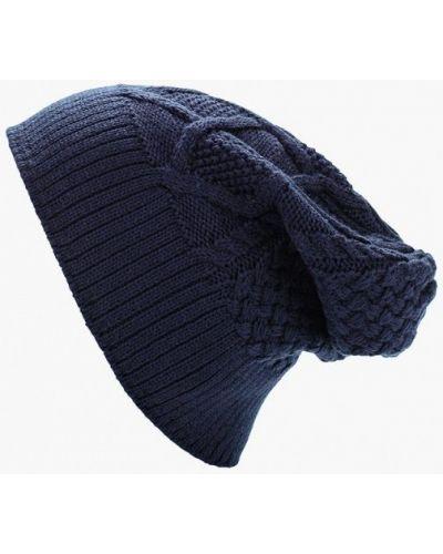 Синяя шапка бини Adidas
