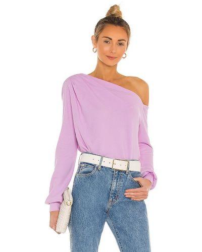 Хлопковый пуловер - розовый La Made