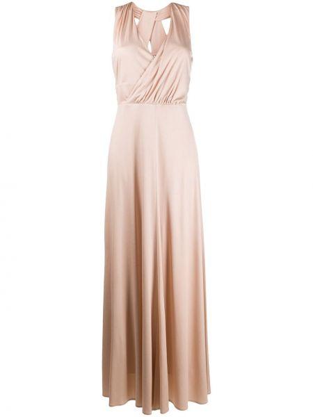 Открытое платье с открытой спиной без рукавов D.exterior