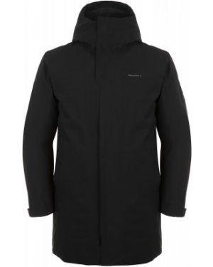 Прямая черная утепленная куртка на молнии с карманами Merrell