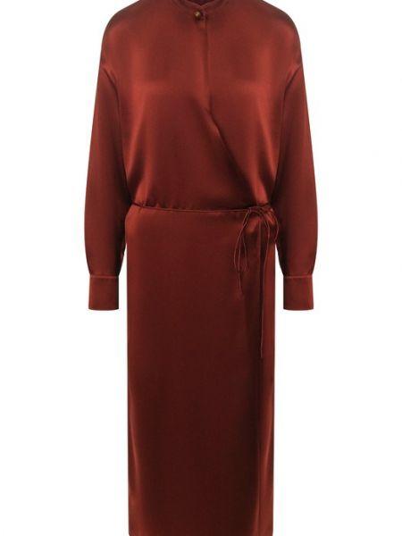 Платье шелковое Vince.
