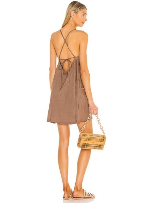 Платье мини из штапеля Vitamin A