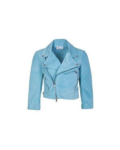 Голубая куртка Valentino Red