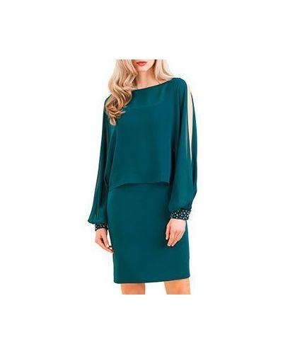 Платье зеленый Luisa Spagnoli