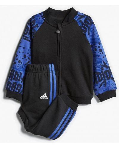 Спортивный костюм черный Adidas