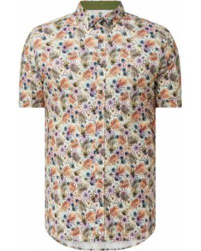 Koszula slim krótki rękaw bawełniana Desoto