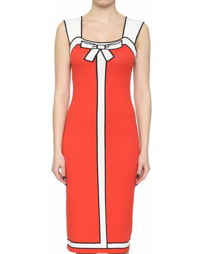 Коралловое платье Anna Rachele