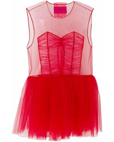 Платье мини с вырезом Viktor & Rolf