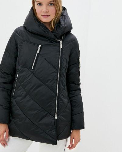 Черная зимняя куртка Lusio