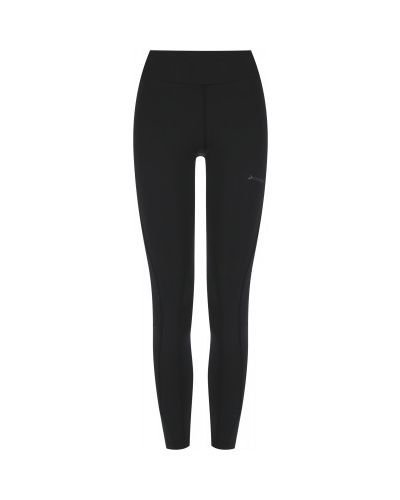Кожаные брюки - черные Demix