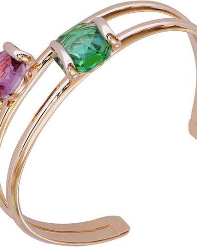 Золотой браслет позолоченный с камнями Andrea Marazzini
