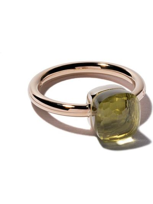 Кольцо с кварцем - белое Pomellato