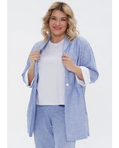 Голубой костюм осенний Luxury Plus