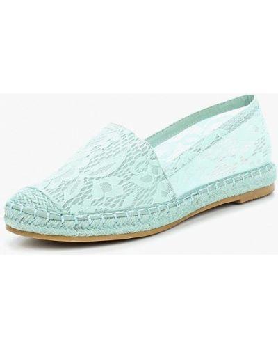 Бирюзовые эспадрильи Sweet Shoes