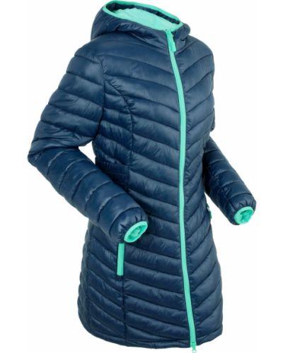 Синяя длинная куртка Bonprix