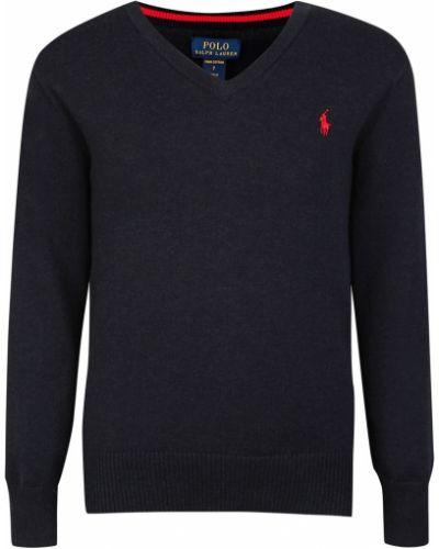 Пуловер синий Ralph Lauren Kids
