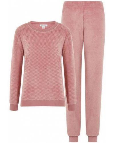 Плюшевая пижама - розовая Primark