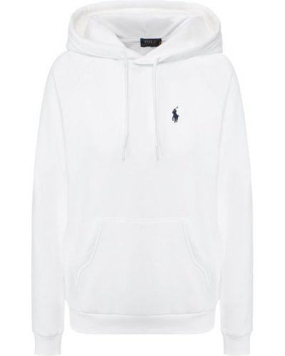 Хлопковое худи - белое Polo Ralph Lauren