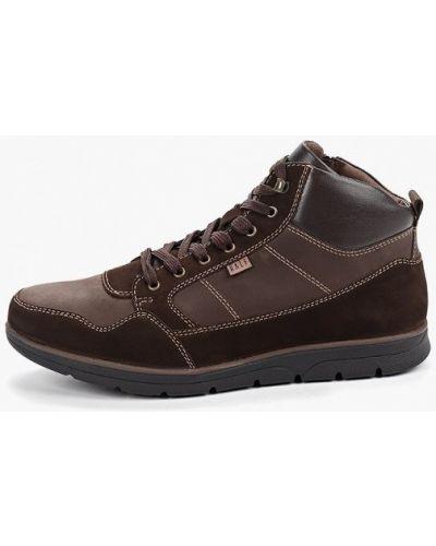 Коричневые кожаные ботинки Ralf Ringer
