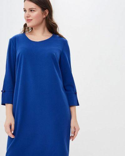 Повседневное платье весеннее синее Vis-a-vis