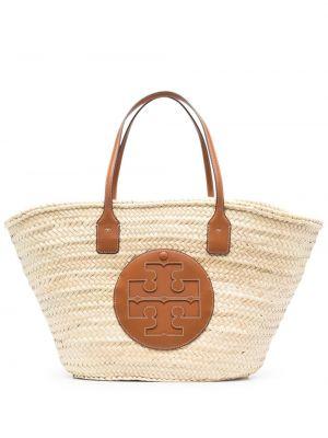 Соломенная пляжная сумка Tory Burch