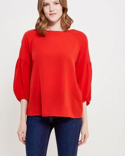 Красная блузка осенняя Befree