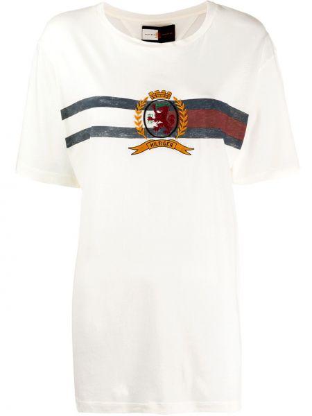 Футбольный топ свободного кроя Hilfiger Collection